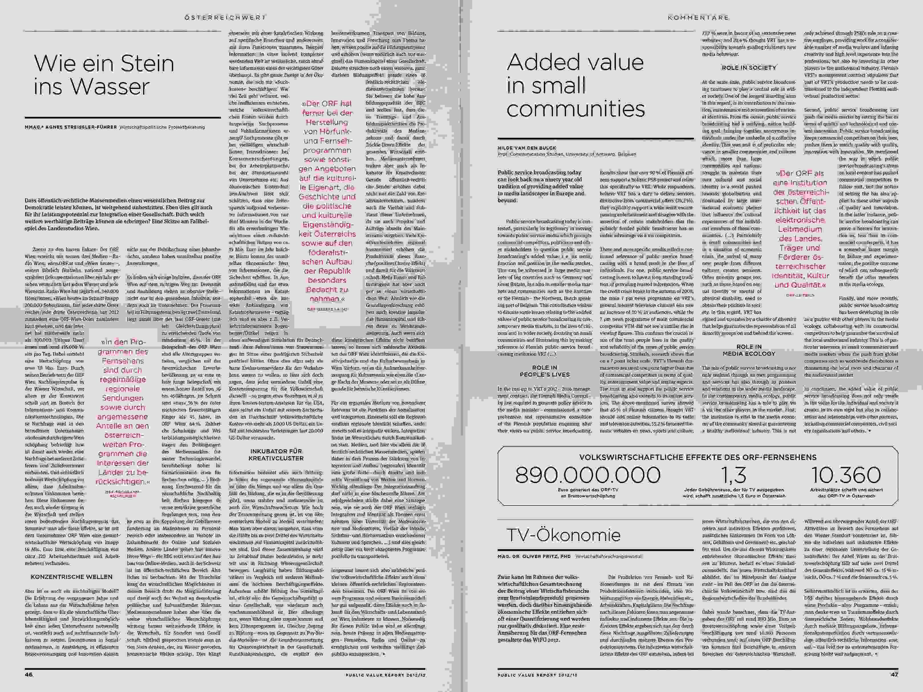 ORF PV 13 flat Dummy Zeitung Doppelseite 15