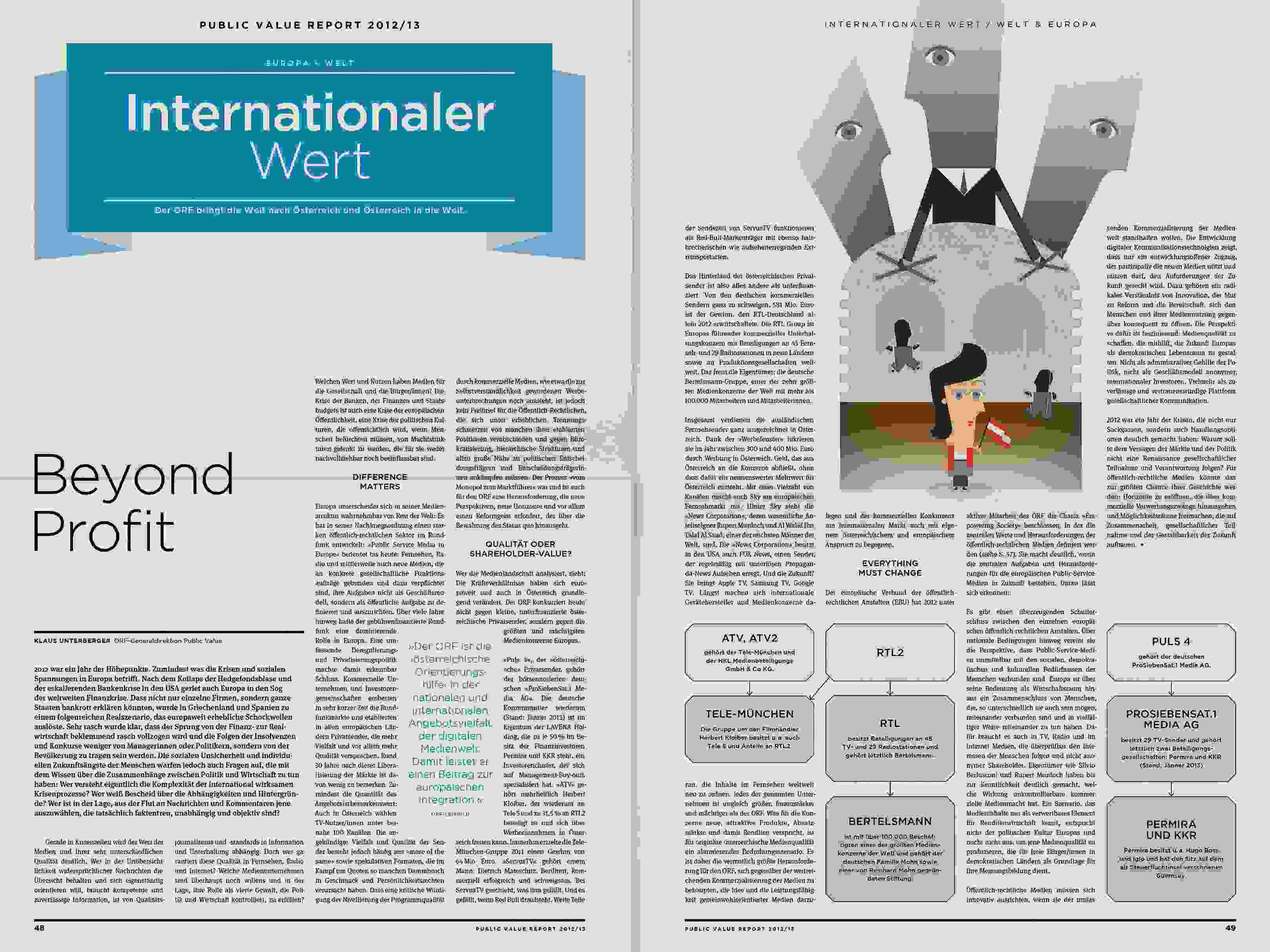 ORF PV 13 flat Dummy Zeitung Doppelseite 16