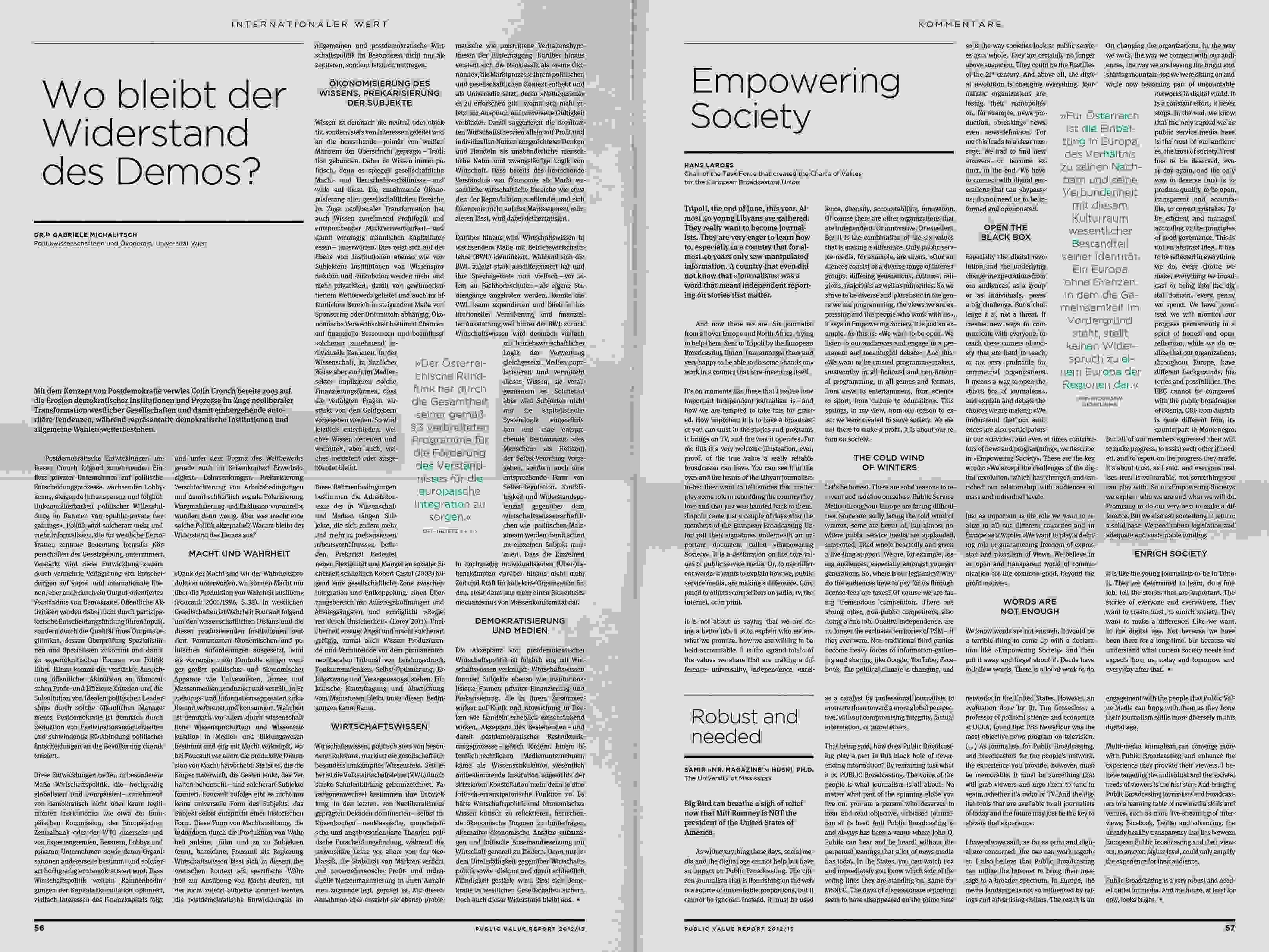 ORF PV 13 flat Dummy Zeitung Doppelseite 19