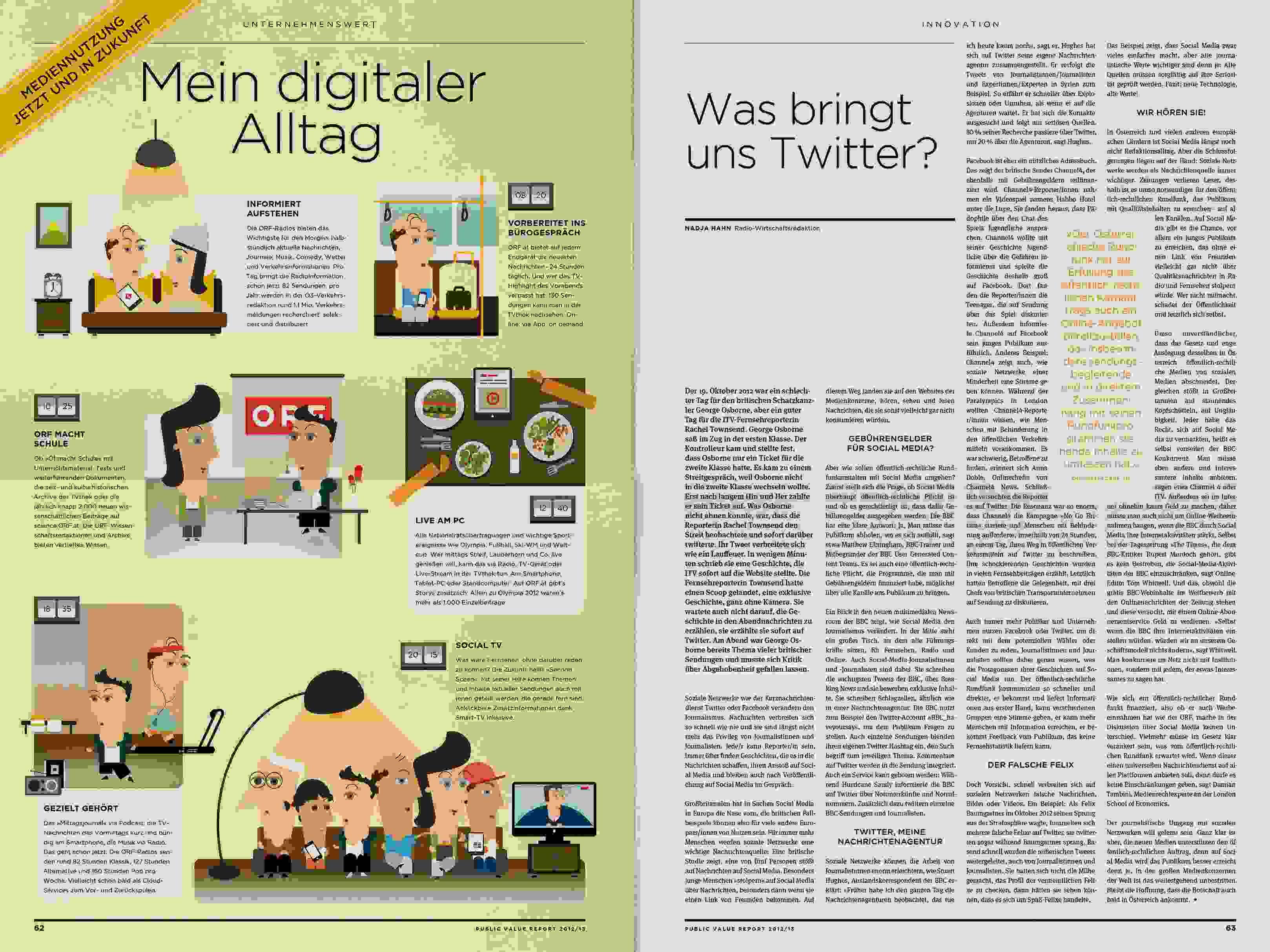 ORF PV 13 flat Dummy Zeitung Doppelseite 22