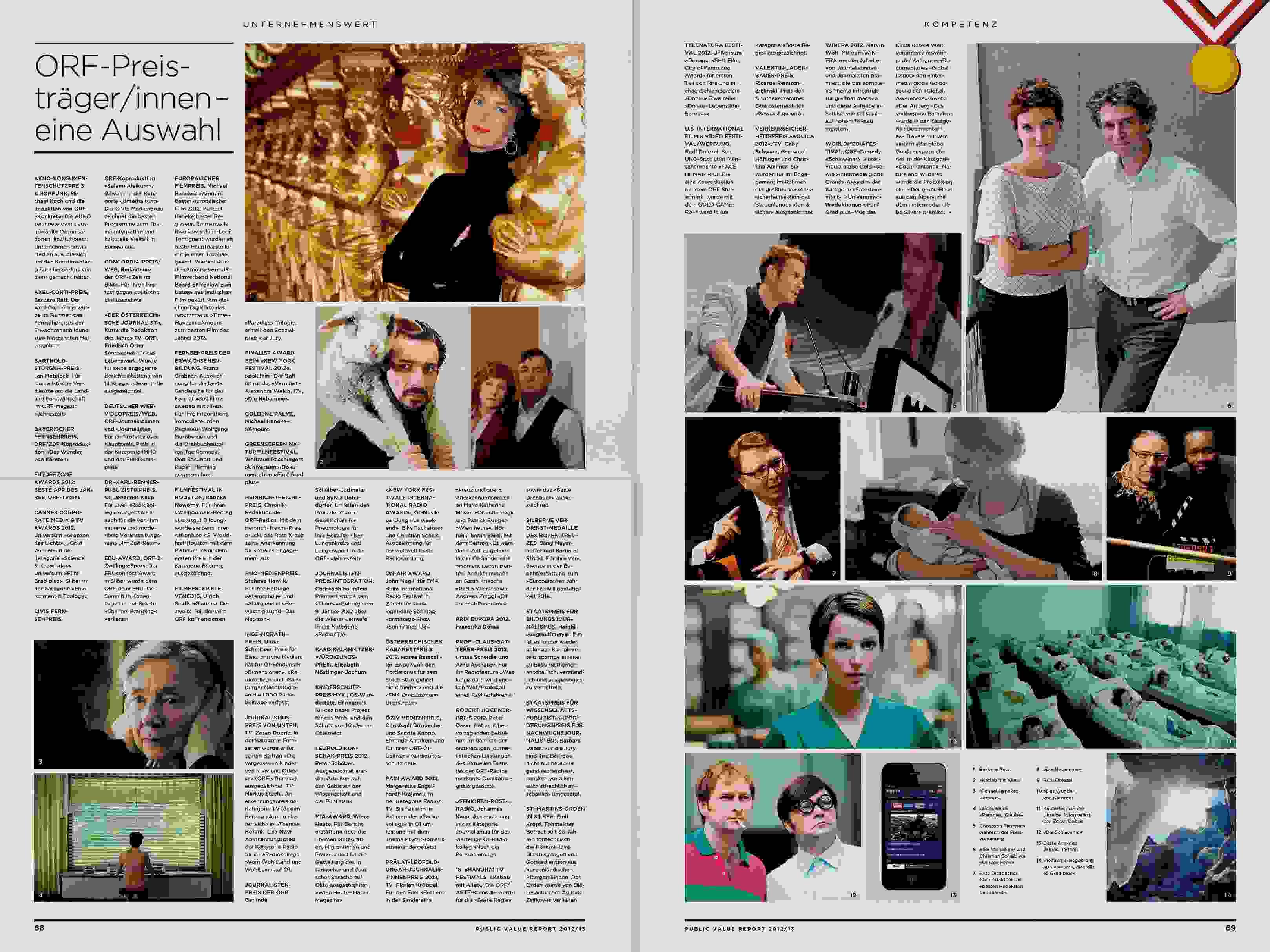 ORF PV 13 flat Dummy Zeitung Doppelseite 24