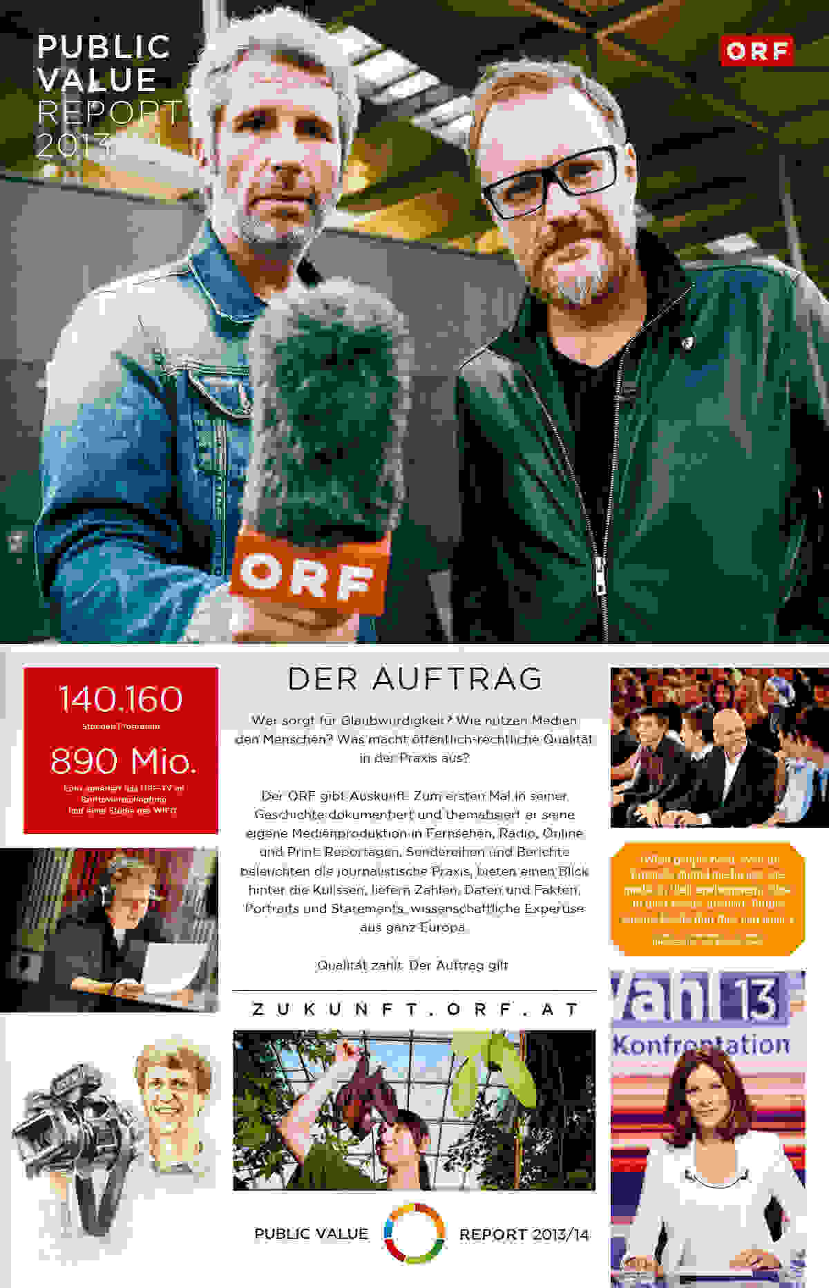 ORF PV 2014 Zeitung Cover